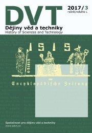 Dějiny věd a techniky 2017, 3
