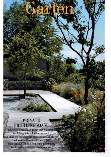 Otten Gartengestaltung, azubi-flyer - gartengestaltung otten, Design ideen