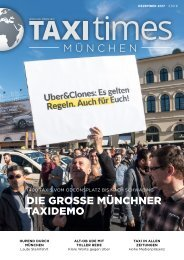 Taxi Times München - Dezember 2017