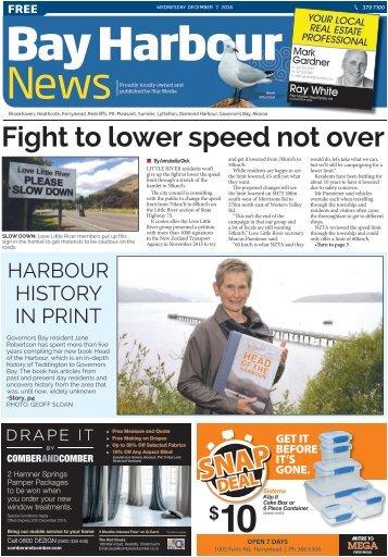 Bay Harbour: December 07, 2016