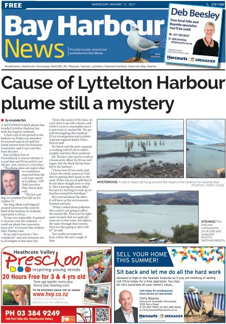Bay Harbour: January 11, 2017
