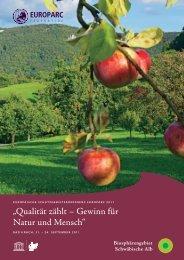 Download: Deutsche Version (12MB) - EUROPARC 2011