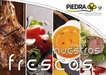 Supermercados PIEDRA nuestros frescos hasta 22 de enero 2018