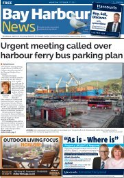 Bay Harbour: September 27, 2017
