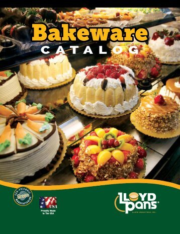 Bakeware Catalog LloydPans