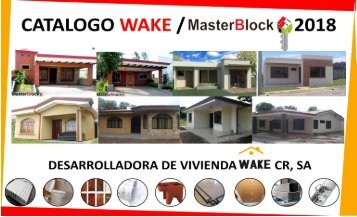 Catalogo WAKE 2018