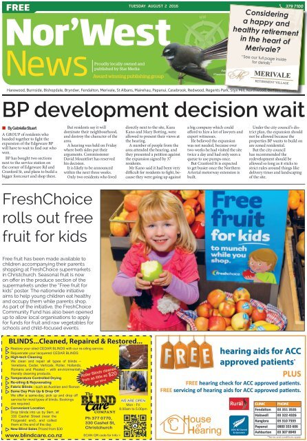 Nor'West News: August 02, 2016