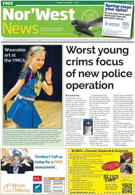 Nor'West News: October 04, 2016