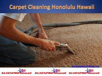 Maid Services Hawaii
