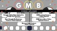 GMB Video Upload