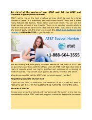 AT&T email customer_support 1-888-664-3555 phone  number for any help