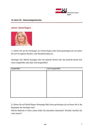 Arbeitsblatt — Vision (PDF 82kb) - Fürstenberg Institut