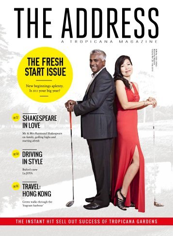 The Address Magazine Jan-Feb 2013