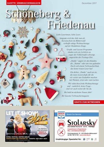 Gazette Schöneberg & Friedenau Nr 12/2017