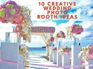 10 Creative Wedding Photo Booth Ideas