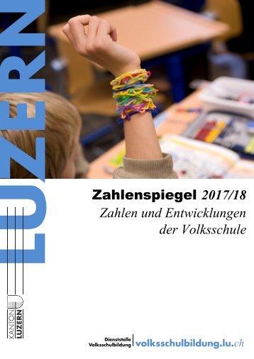 Zahlenspiegel 2017/2018
