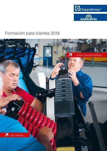Formación para clientes 2018 [ES]