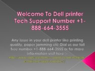 Dial +1-888-664-3555 Dell Printer help technical support number