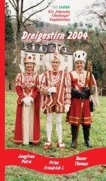 Prinzenheft 2018 zum 125 jährigen Jubiläum