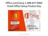 Office.com/setup - Install Office Setup Product Key