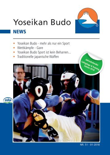 YOSEIKAN BUDO NEWS 51
