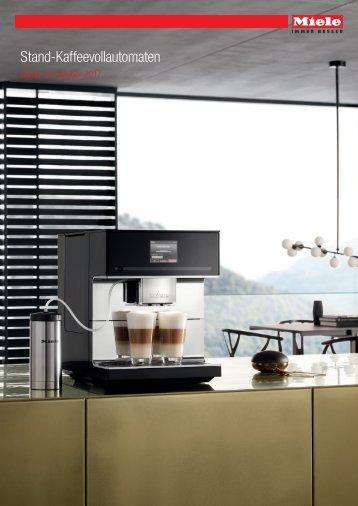 Miele Stand-Kaffeevollautomaten