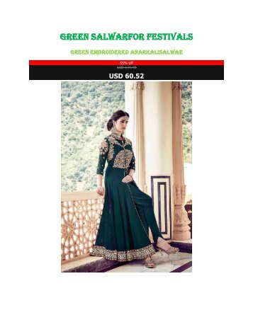 Green_Salwar_For_Festivals