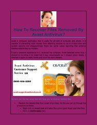 How To Recover Files Removed By Avast Antivirus?