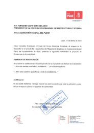 Enmiendas del PSOE a la Ordenanza de Accesibilidad