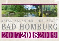 Abfallkalender Bad Homburg 2018