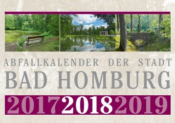 Abfallkalender Bad Homburg 2018