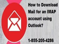 18552054286|How to Download Mail for an IMAP account using Outlook