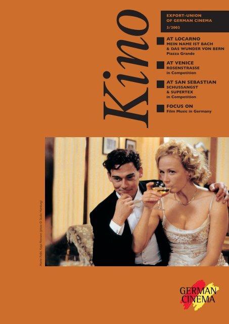 Titel Kino 3 2003 German Films