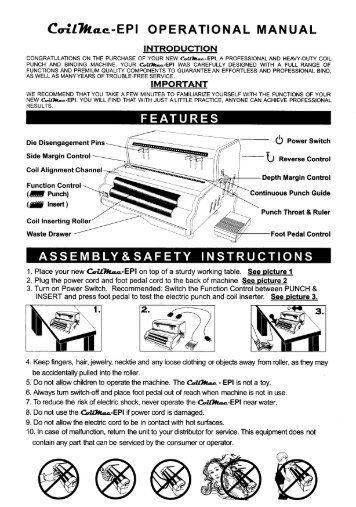 CoilMac-EPI Standard Akiles Coil Binding Machine - Printfinish.com