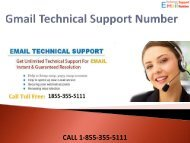 1-844-355-5111 Gmail Technical Support Number