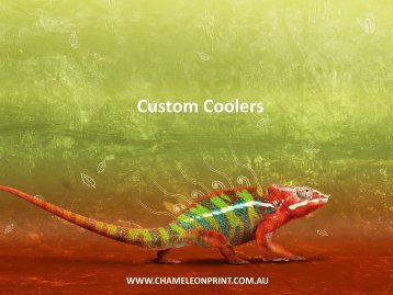 Custom Coolers - Chameleon Print Group