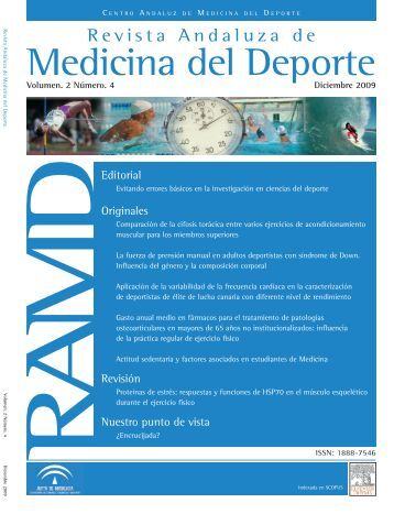 Medicina del Deporte - Nutrinfo.com