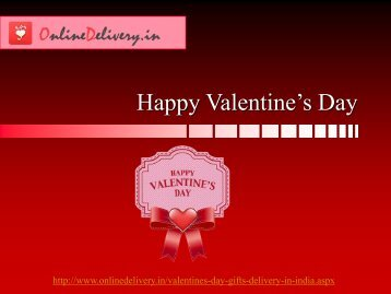 Send Valentine's Day gifts to India