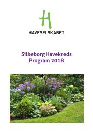 Silkeborgs program 2018 wo