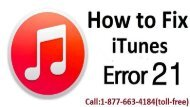 How to Fix iTunes Error Code 21? Call:1-877-663-4184 (Toll-Free)