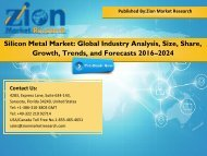 Silicon Metal Market