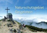 Naturschutzgebiet Geigelstein - Bergsteigerdorf Sachrang