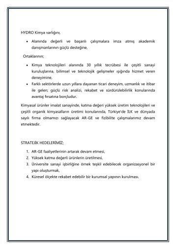 HYDRO Katalog