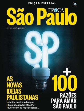 As novAs ideiAs pAulistAnAs - Comunicação