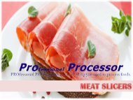 Choose The Right Meat Slicer