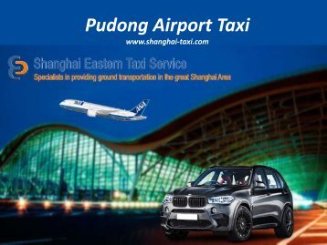 Pudong Airport Quick Taxi Service