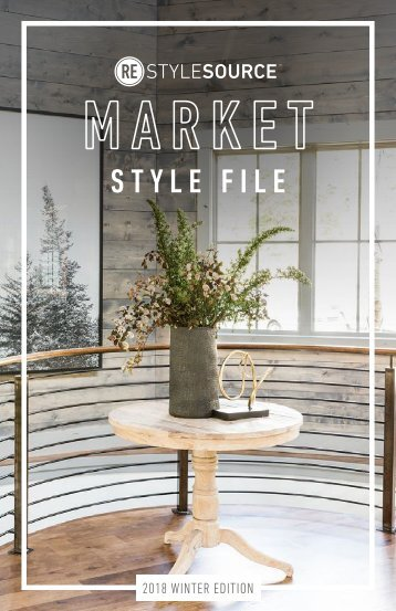 REstyleSOURCE Market Style File | Winter 2017