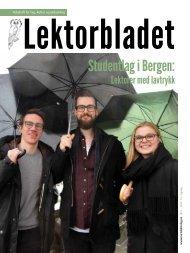 Lektorbladet #1 2017