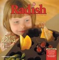 for your littlest eaters - Radish Magazine