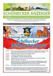 Schönecker Anzeiger November 2014
